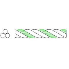 Cordage HSCP 3 torons
