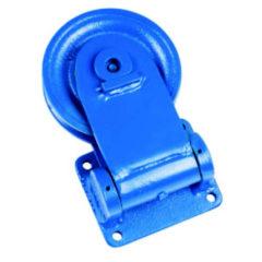 Guide câble directionnel avec roulement à billes ou à rouleaux cylindriques